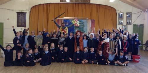 Sioe Owain Glyndŵr – Castell Harlech