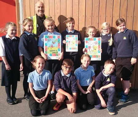 Children Lead Tywyn Environmental Awareness Campaign