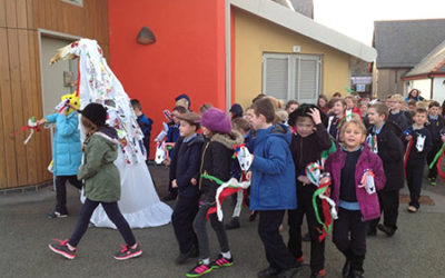 Celebrating with the Mari Lwyd